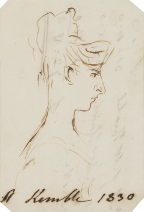 Possibly Adelaide Kemble