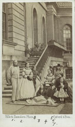The 7th Duke of Marlborough and his family