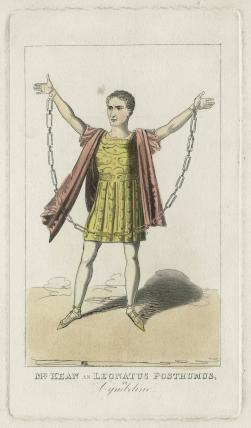 Edmund Kean as Leonatus Posthumous in 'Cymbeline'
