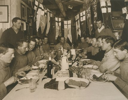 Captain Scott's Birthday Dinner, 6 June 1911
