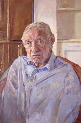 Spike Milligan By Daphne Todd At Art On Demand Portraits