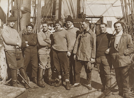Officers of the 'Terra Nova'