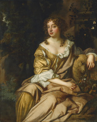 Unknown woman, formerly known as Nell Gwyn