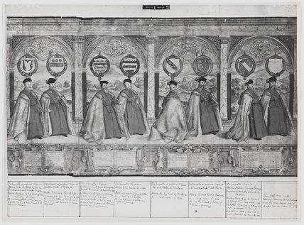 Procession of the Knights of the Garter (sheet 5)
