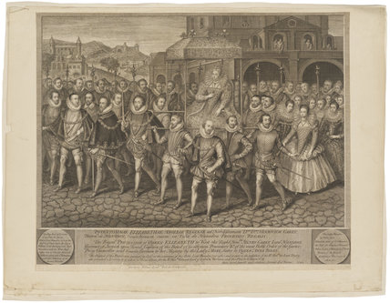 The Procession Picture of Elizabeth I