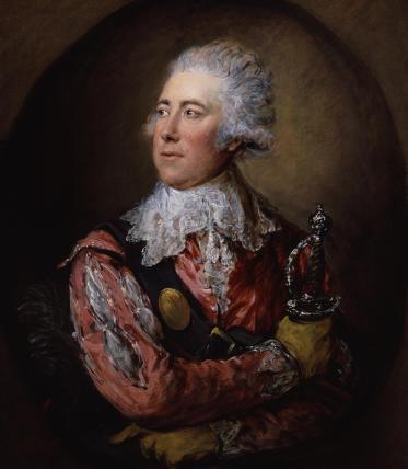 William Thomas Lewis as Mercutio in 'Romeo and Juliet'