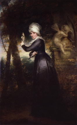 Sarah Siddons (née Kemble) ('Mrs Siddons with the Emblems of Tragedy')