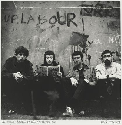 John Mayall & the Bluesbreakers (John Mayall; John McVie; Hughie Flint) and Eric Clapton