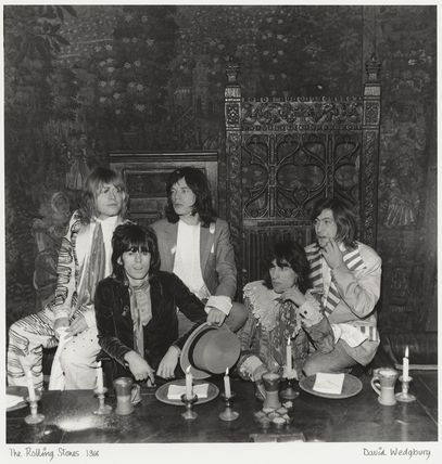 The Rolling Stones (Brian Jones; Keith Richards; Mick Jagger; Bill Wyman; Charlie Watts)