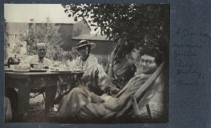 Helmut Ruhemann; Marjorie Gertler (née Hodgkinson, later Kostenz); Sir Philip Hendy; Mark Gertler