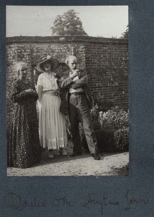 Dorelia McNeill; Lady Ottoline Morrell; Augustus John