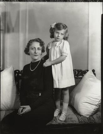 Marchesa Maria Cristina Marconi (née Bezzi-Scali); Princess Elettra Marconi