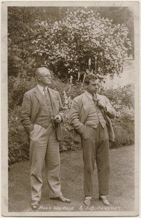 Sir Hugh Walpole; J.B. Priestley