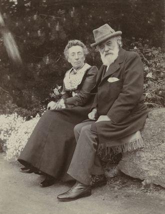 Frances Rosetta Legros (née Hodgson); Alphonse Legros