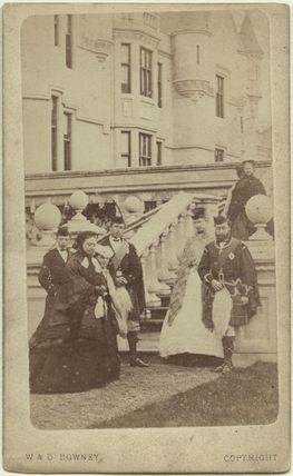 Royal group at Balmoral