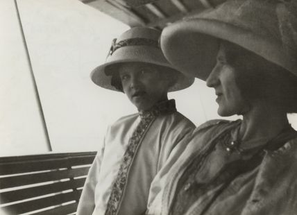 Julian Vinogradoff (née Morrell); Lady Ottoline Morrell