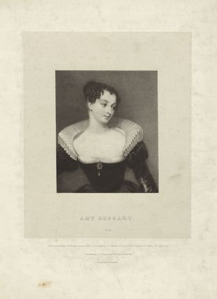 Fictitious portrait called Amy Robsart (Amy Dudley (née Robsart), Lady Dudley)