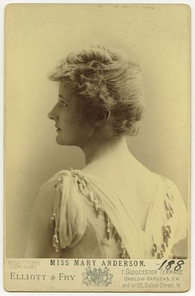 Mary Anderson (Mrs de Navarro)
