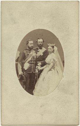 King Edward VII; Louis IV, Grand Duke of Hesse and by Rhine; Princess Alice, Grand Duchess of Hesse