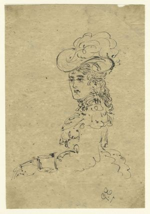 Sketch of an unknown woman
