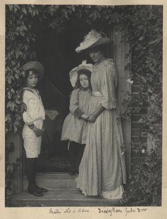 Leopold Hamilton Myers; Silvia Constance Myers; Eveleen Myers (née Tennant)