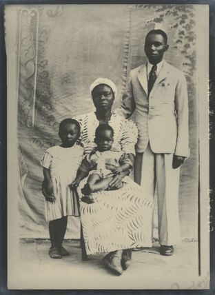 George Q. Chei and his family