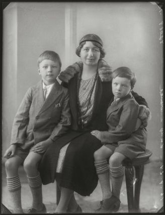 Brian Colin Laurence; Lady Sybil Laurence (née Stopford); Desmond Roger Laurence
