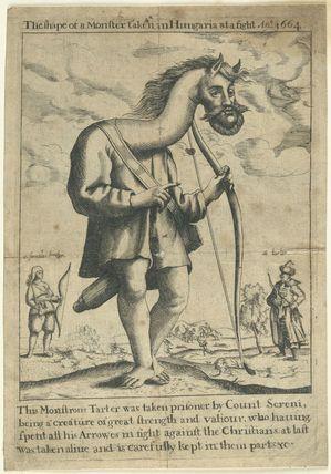 Monstrous Tarter taken prisoner by Count Sereni