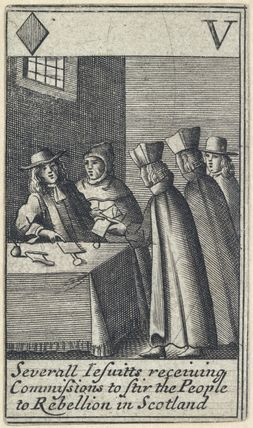 'Severall Jesuitts receiving Commissions to Stir the People to Rebellion in Scotland'