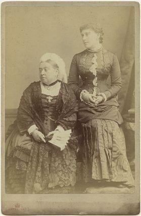 Queen Victoria; Princess Beatrice of Battenberg