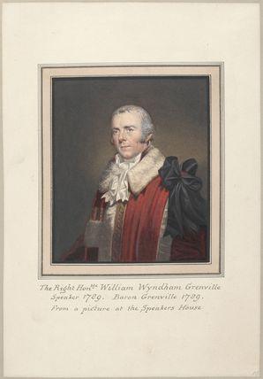 William Wyndham Grenville, 1st Baron Grenville