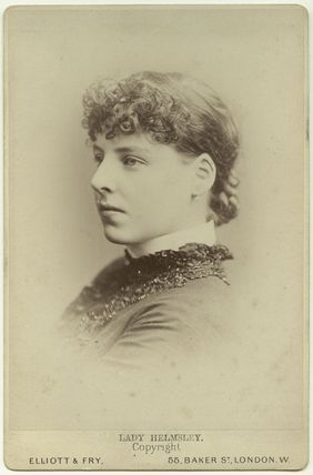 Muriel Frances Louisa Duncombe (née Talbot), Viscountess Helmsley (later Mrs Owen)