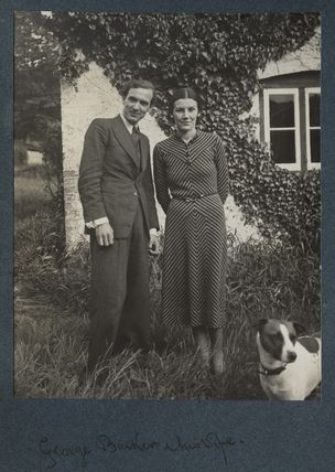 George Granville Barker; Jessica Winifred Theresa Barker (née Woodward)