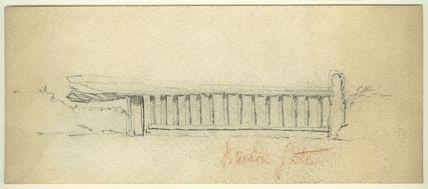 Study of Breton (?) Gate