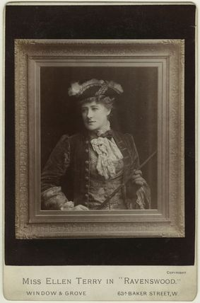 Ellen Terry as Lucy Ashton in 'Ravenswood'