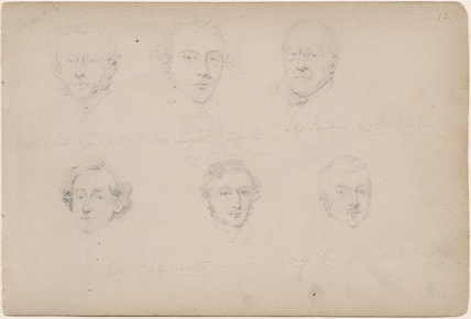 Leopold Redpath and five unknown men