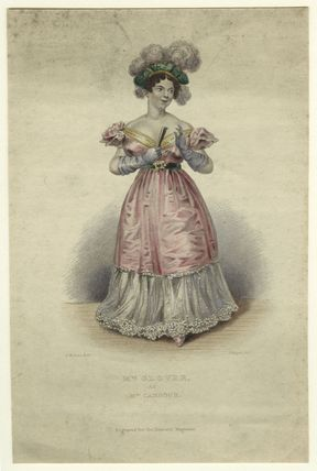 Julia Glover (née Betterton) as Mrs Candour