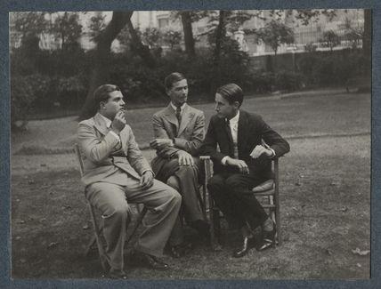 Christopher Vernon Hassall; Walter John Herbert ('Sebastian') Sprott; Sir (Alan Charles) Laurence Whistler