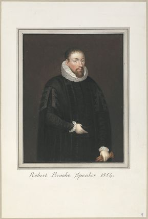 Called Robert Brooke (Sir Robert Broke)