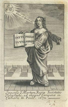 Frontispiece to 'Institutio Philosophiae'