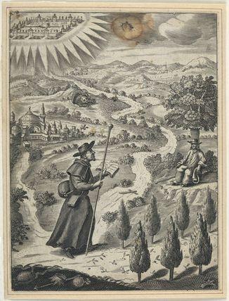 A pilgrim; Simon Patrick