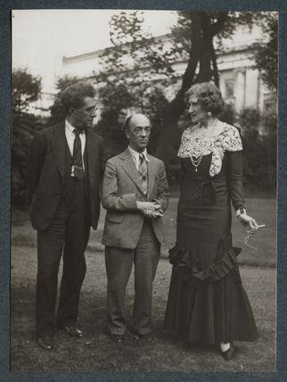 Samuel Solomonovich ('Kot') Koteliansky; James Stephens; Lady Ottoline Morrell