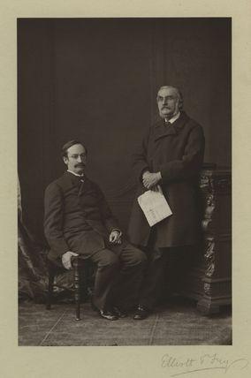 Sir John Strachey; Sir Richard Strachey