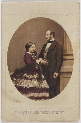 Queen Victoria; Prince Albert of Saxe-Coburg-Gotha