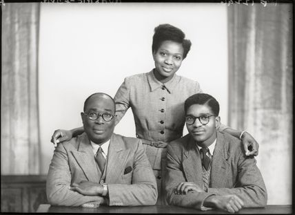 Sir Samuel Okai Quashie-Idun; Frances Quashie-Idun; Charles Amoah