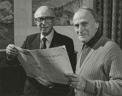 Eric William Fenby; Yehudi Menuhin