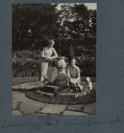 Lady (Victoria) Margaret Parente (née Cavendish-Bentinck); Lady (Alexandra Margaret) Anne Cavendish-Bentinck