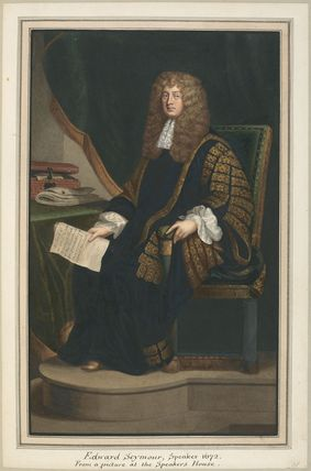 Sir Edward Seymour, 4th Bt