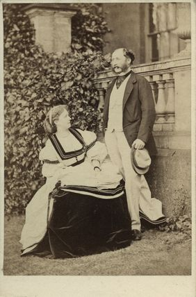 Adelaide Ida (née Curzon), Countess Westmorland; Francis William Henry Fane, 12th Earl of Westmorland
