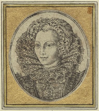 probably Mary (née Rogers), Lady Harington